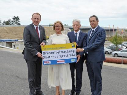Verkehrsfreigabe für neue Brücke