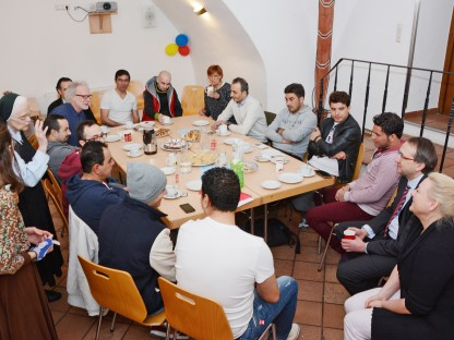 Diversity Café im Rathaus am 19. März 2016. (Foto: Martin Koutny)