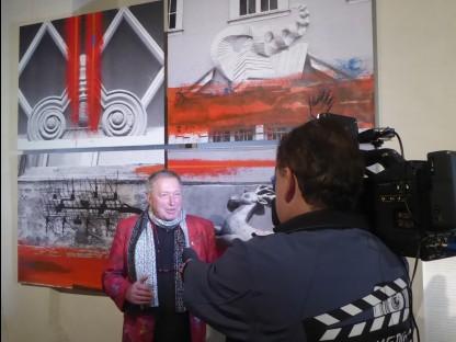 St. Pöltner Künstler stellt seine Werke in Deutschland vor