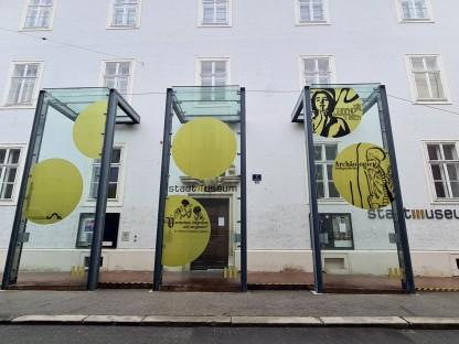 Stadtmuseum St. Pölten Außenansicht. (Foto: Corina Muzatko)