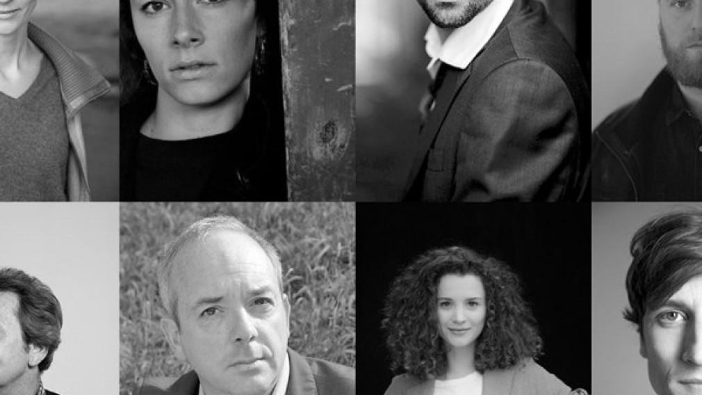 Einzelne Portraits von Schauspieler  n und Schauspielerinnen. (Foto: Collage-Landestheater NÖ).