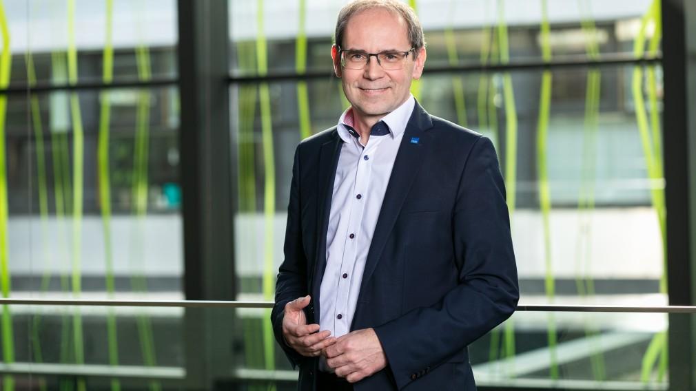 Geschäftsführer der Fachhochschule Gernot Kohl. (Foto: Peter Rauchecker)