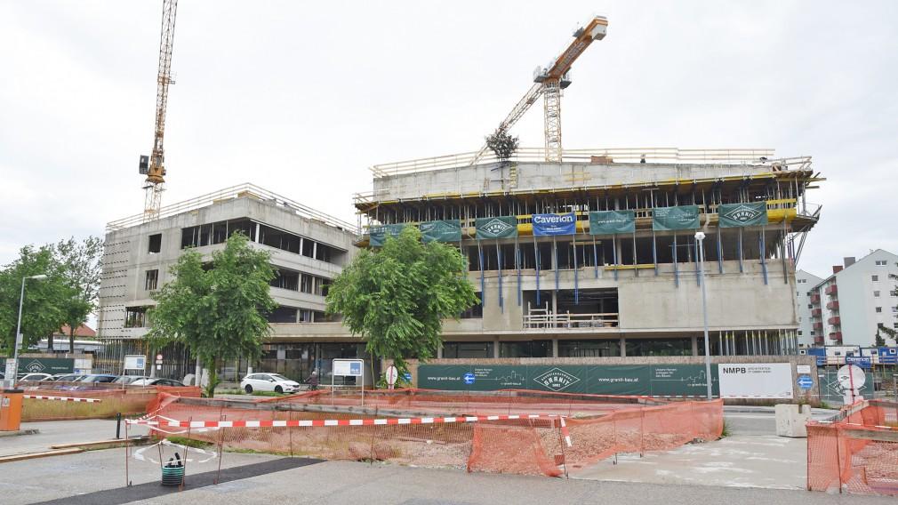 Der Ausbau der Fachhochschule St. Pölten zum Campus St. Pölten. (Foto: Josef Vorlaufer)