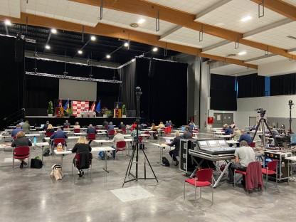 Sitzung des Gemeinderates im VAZ. (Foto: Kainz)