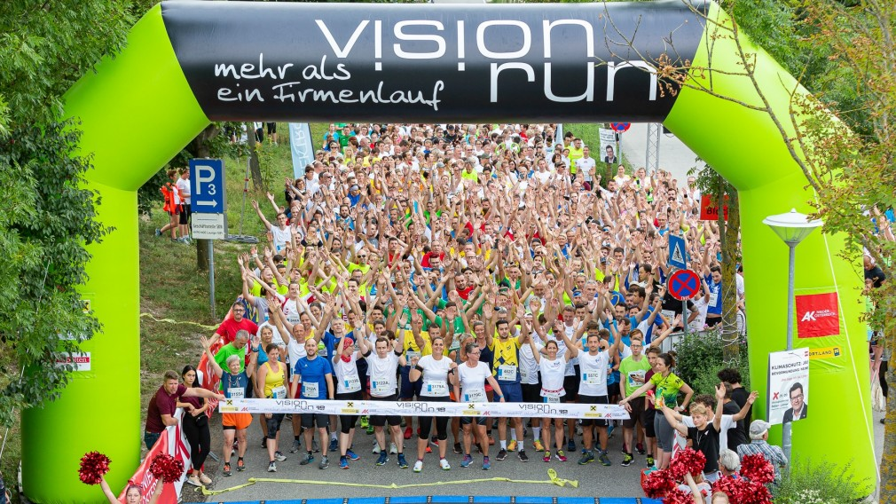 Vision Run Start 2019 (Foto: Peter Rauchecker)