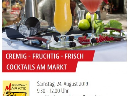 Cocktails am Markt