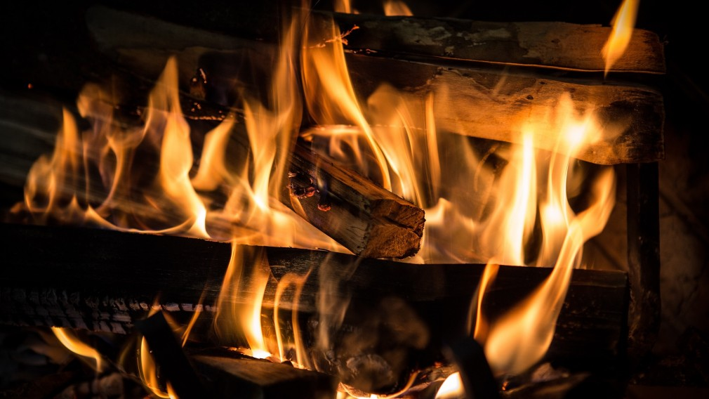 Kaminfeuer mit Holz. (Foto: Pixabay | LAWJR)