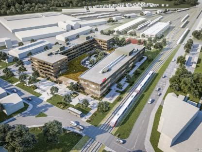 ÖBB: Neuer Bildungscampus und neues Lehrlingsheim in  St. Pölten kurz vor Baubeginn