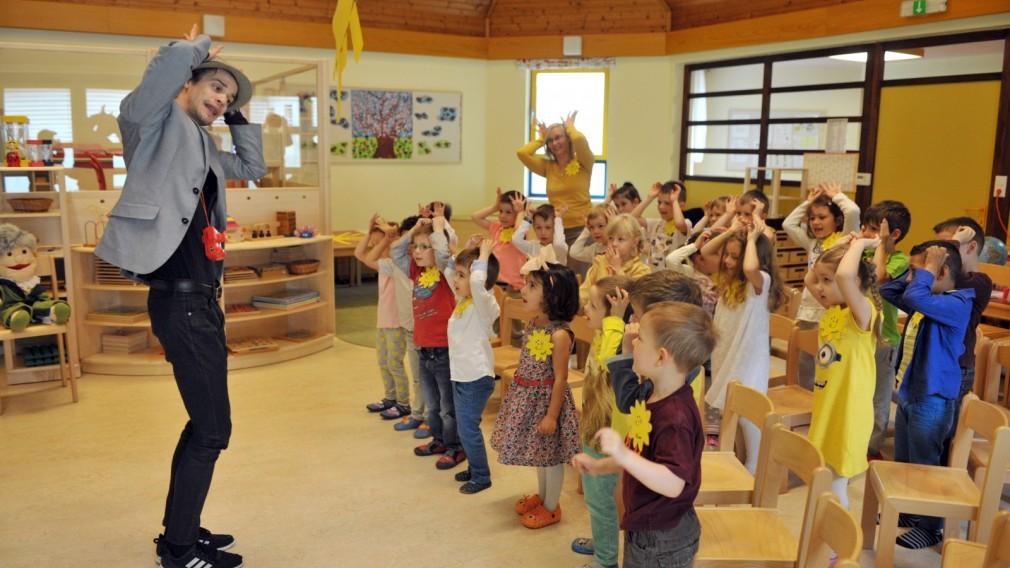 Sonniger und informativer Tag für Kinder