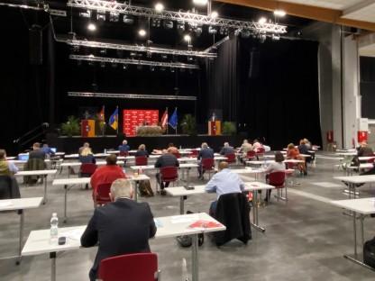 Gemeinderatssitzung im VAZ-Saal. (Foto: Kainz)
