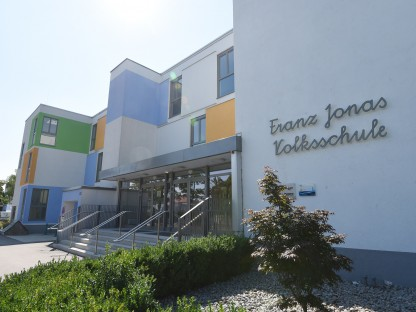Franz Jonas Volksschule St. Pölten. (Foto: Josef Vorlaufer)