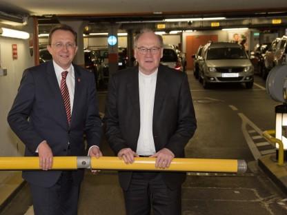Garage beim St. Pöltner Dom kommt - Einigung zwischen Stadt und Diözese