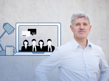 Organisationsentwicklung Lehrgangsleiter Dr. Hubert Lobnig. (Foto: Raimo Rudi Rumpler)