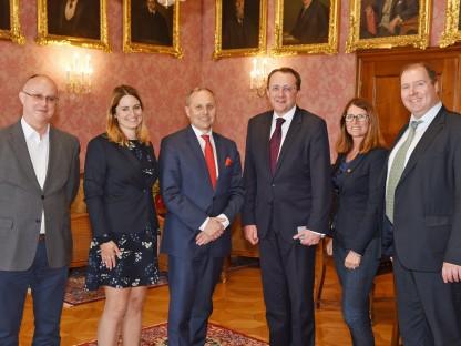 Besuch des ungarischen Botschafters