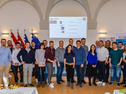 TeilnehmerInnen des fünften Smart-UP Forums am 27. Februar 2020 im Rathaus. (Foto: Tobias Jungmeier)