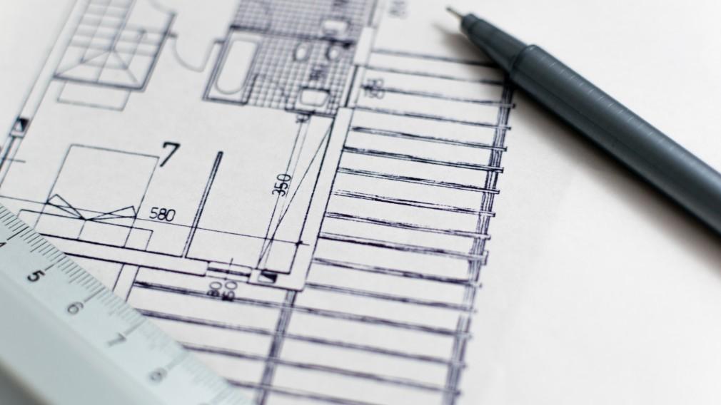 Blick auf Hausplan. (Foto:pixabay).
