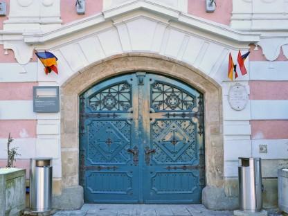 Rathaustor St. Pölten. (Foto: Josef Vorlaufer)