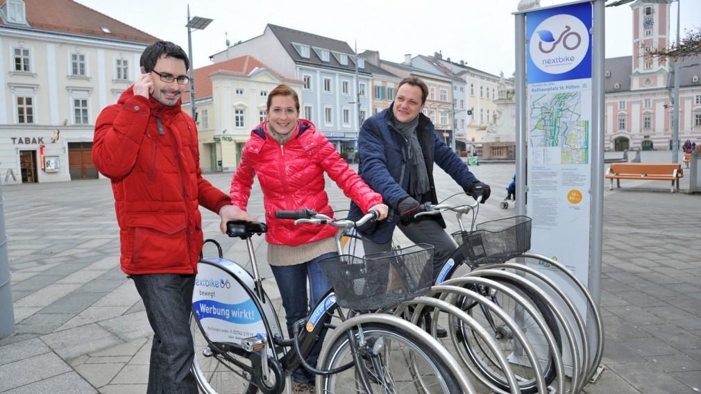"""Neuer Rekord bei Radverleihsystem """"nextbike"""""""