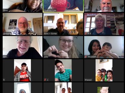 Screenshot Zoom Konferenz online. (Foto: Zoom)
