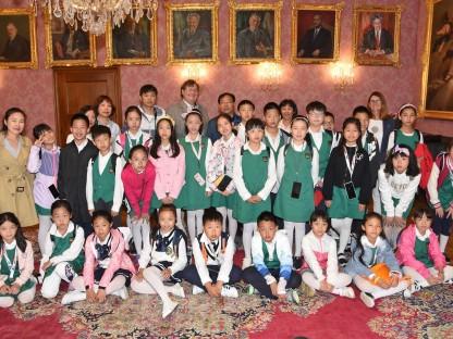 Schülergruppe aus Wuhan besuchte Rathaus