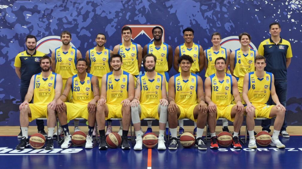 SKN St. Pölten Basketball Team. (Foto: Wolfgang Mayer)