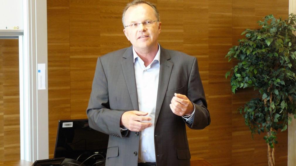 Volksanwalt Günther Kräuter referierte an der FH