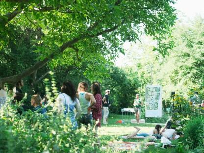 Aufnahme vom Sonnenparkfest 2020. (Foto: Kaylie Dempsey)