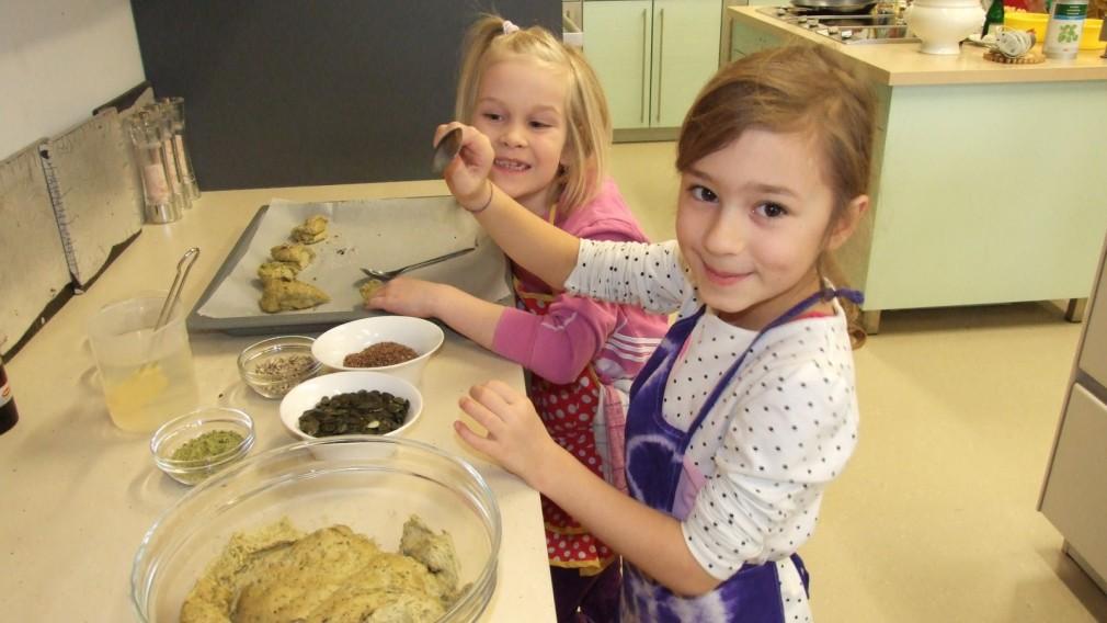 Kochen mit Kindern am Markt