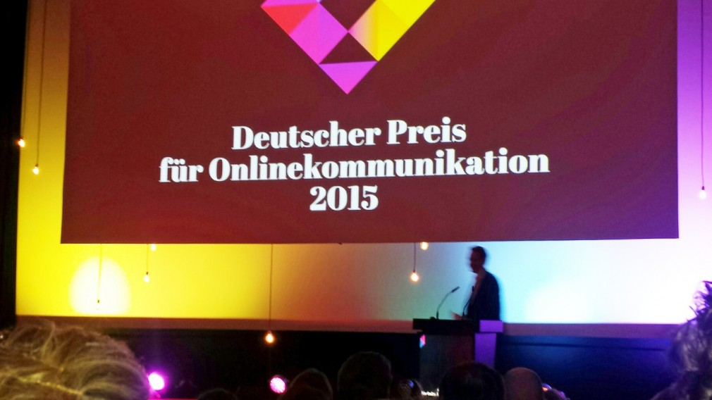 Onlinekommunikationspreis: