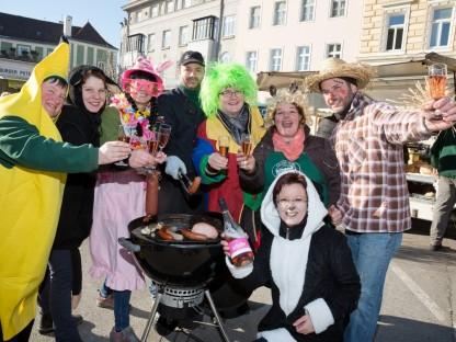 """Fasching am Markt mit """"Närrischem Grillen"""""""