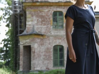 Ein Kleid des St. Pöltner Modelabels Elisia. (Foto: Sandra Langschwert)