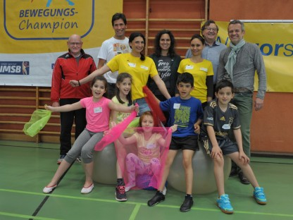 Bewegungs-Champion in den Volksschulen