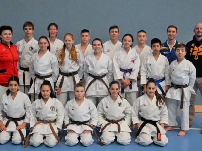 das Österreichische Karate Nationalteam