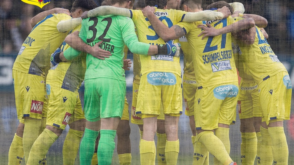 Fußballmannschaft des SKN. (Foto: spusu SKN St. Pölten)