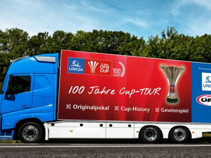 Der Uniqa-ÖFB-Cup geht auf große Tour