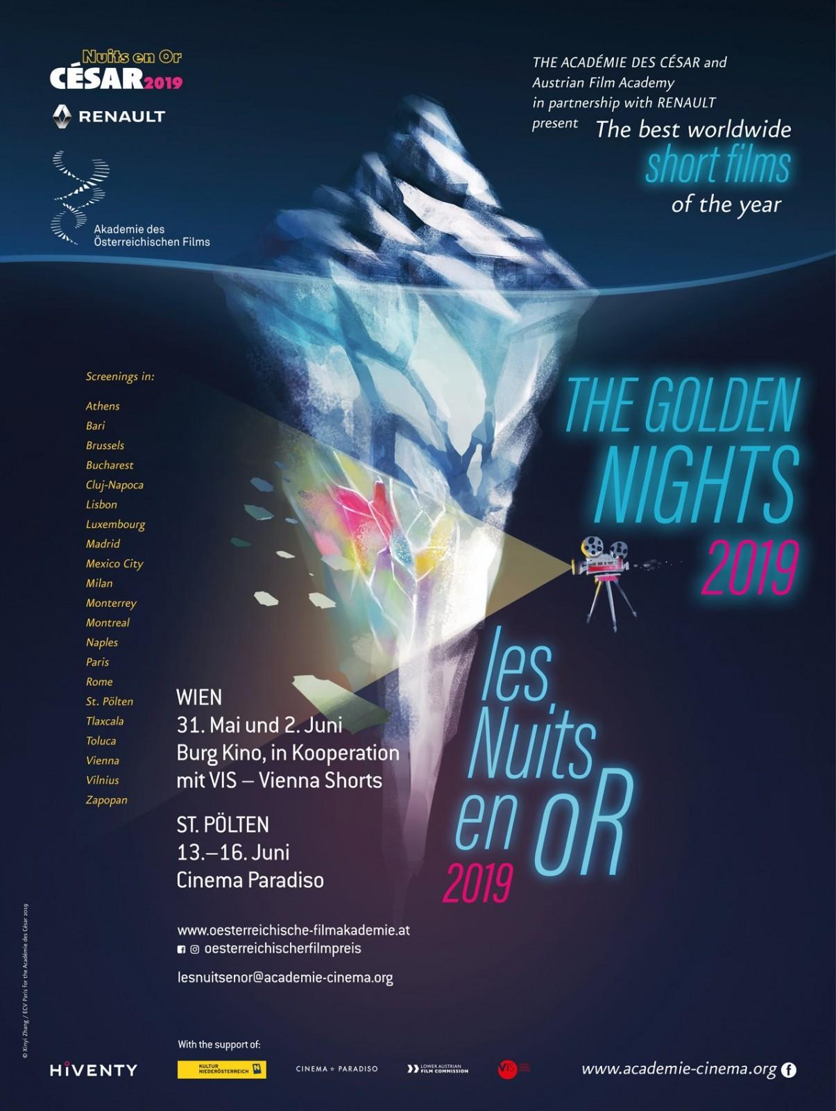 Filmmarathon GOLDEN NIGHTS mit FH-Beteiligung