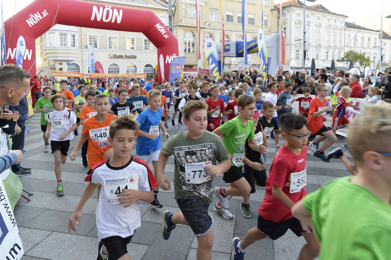 Citylauf ist Magnet für die Jungen