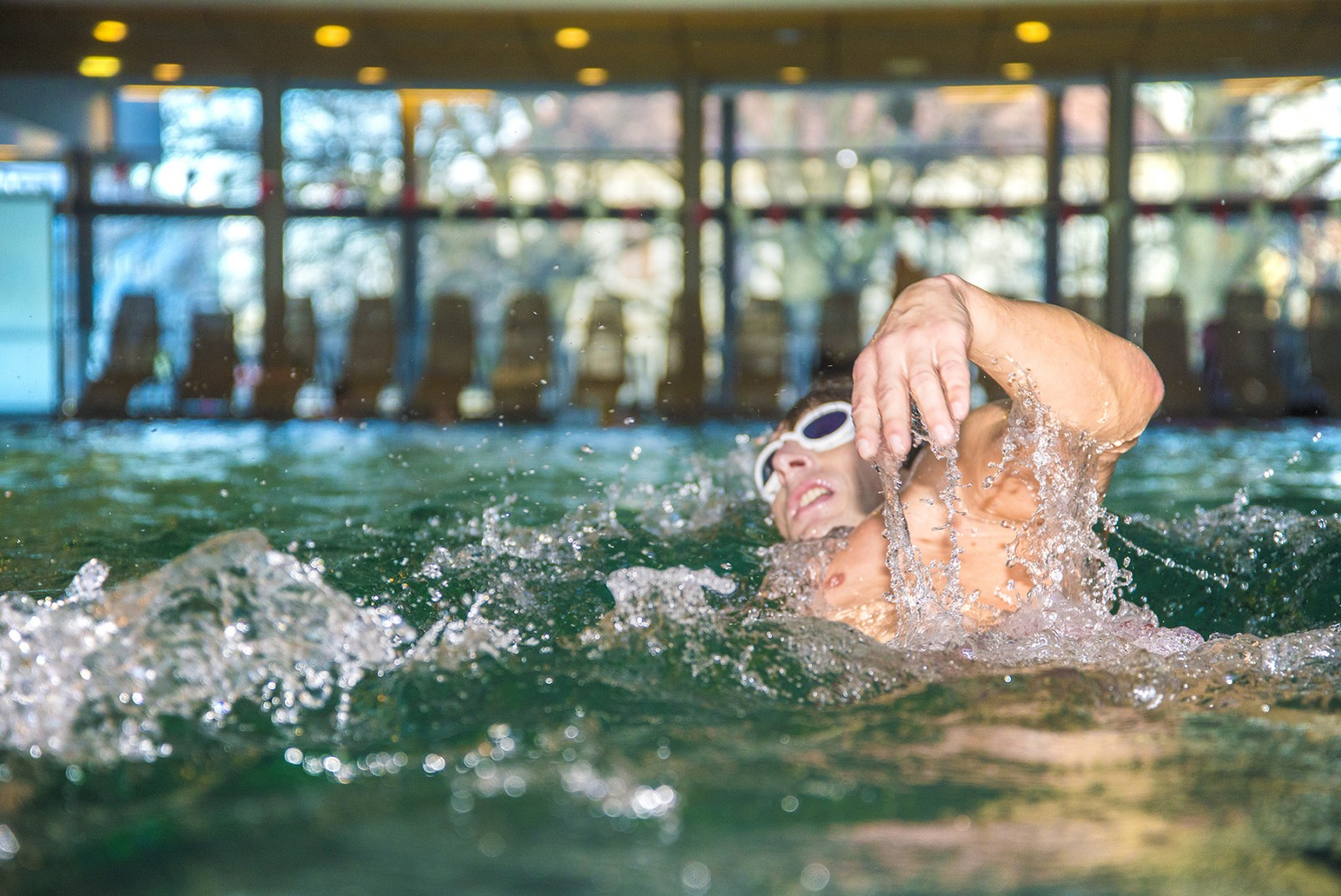 Minutengenauer Schwimmspaß