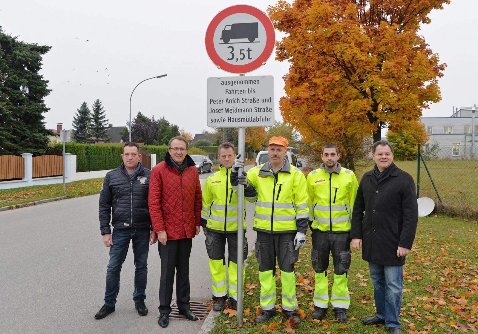 LKW-Durchfahrtsverbot in Hart