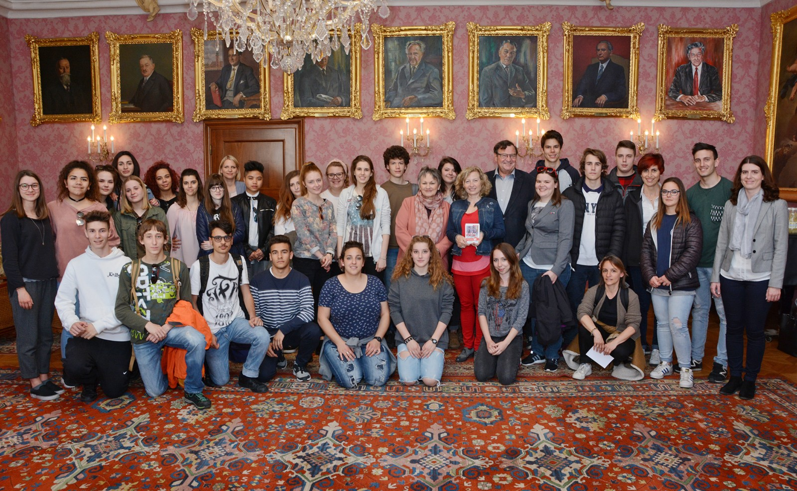 Schüler aus Verona besuchten St. Pölten