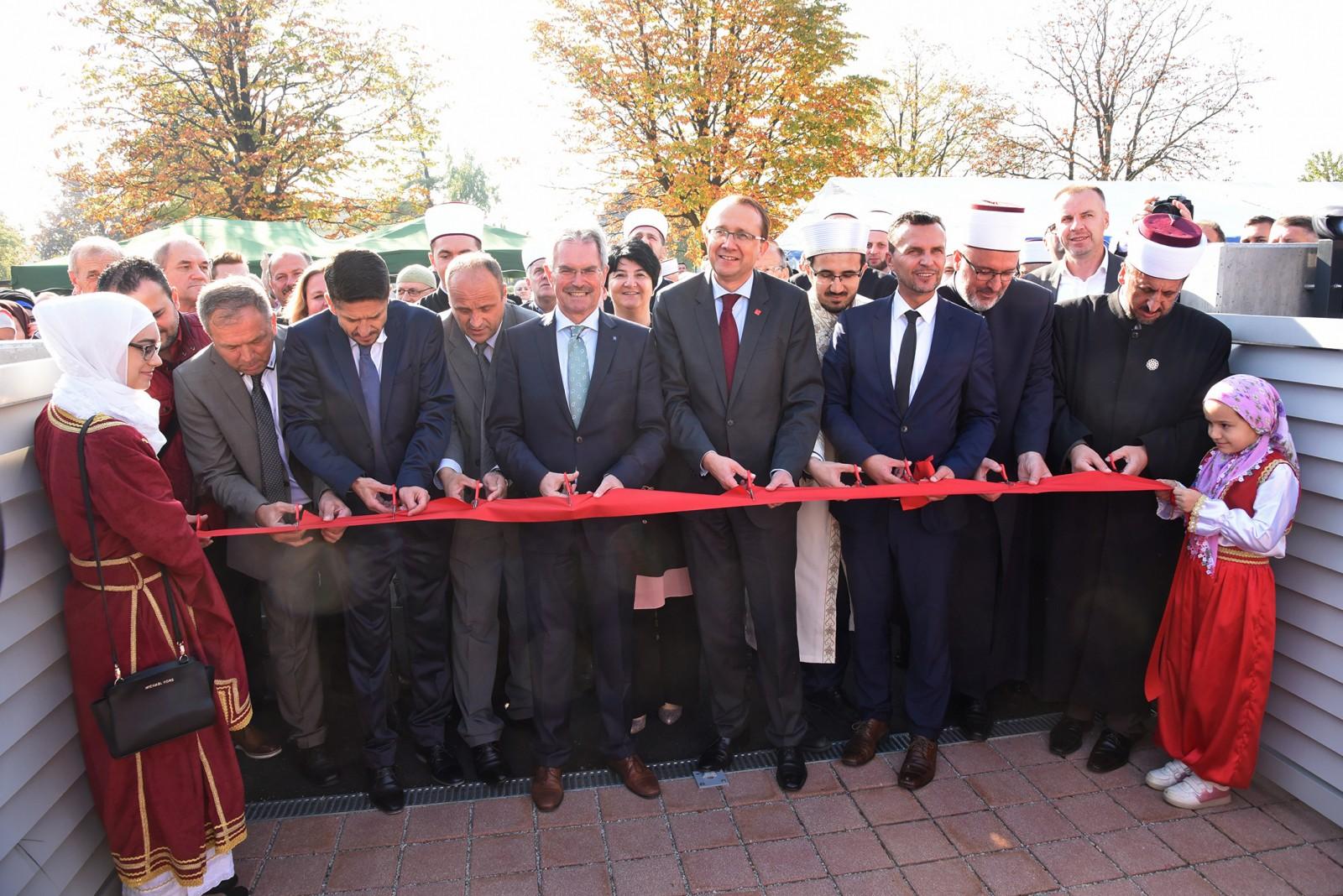 Vereinshaus der Bosniaken eröffnet