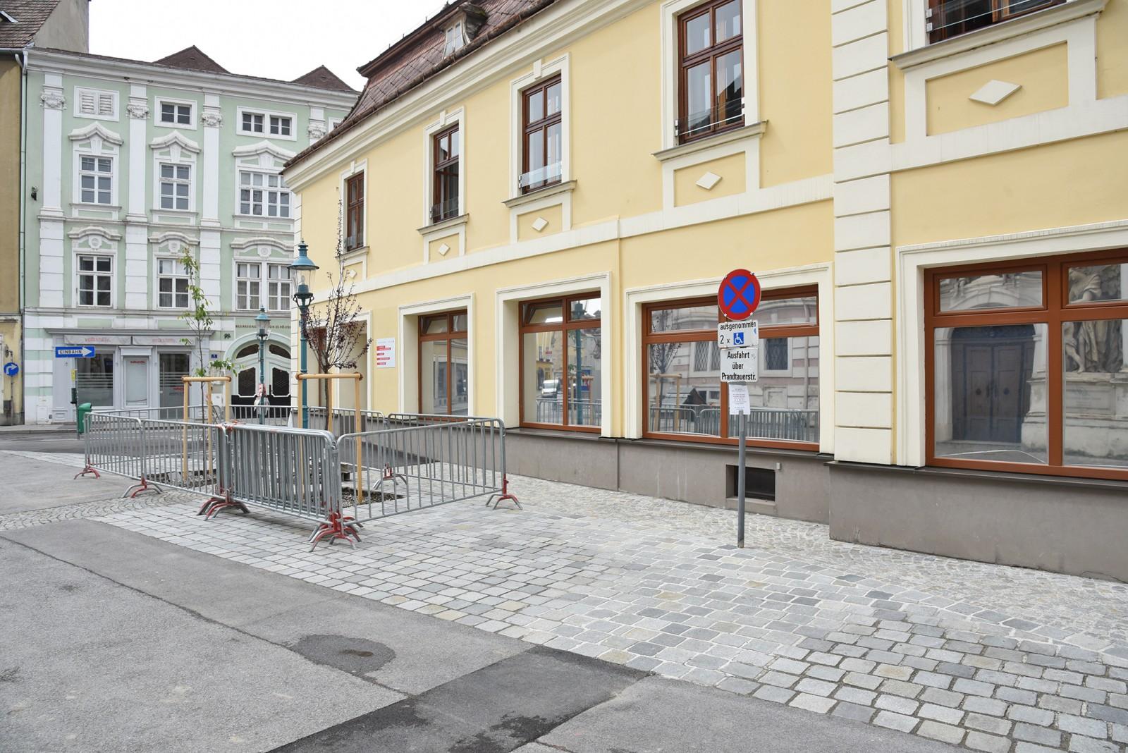 Verlegung von Behindertenparkplätzen