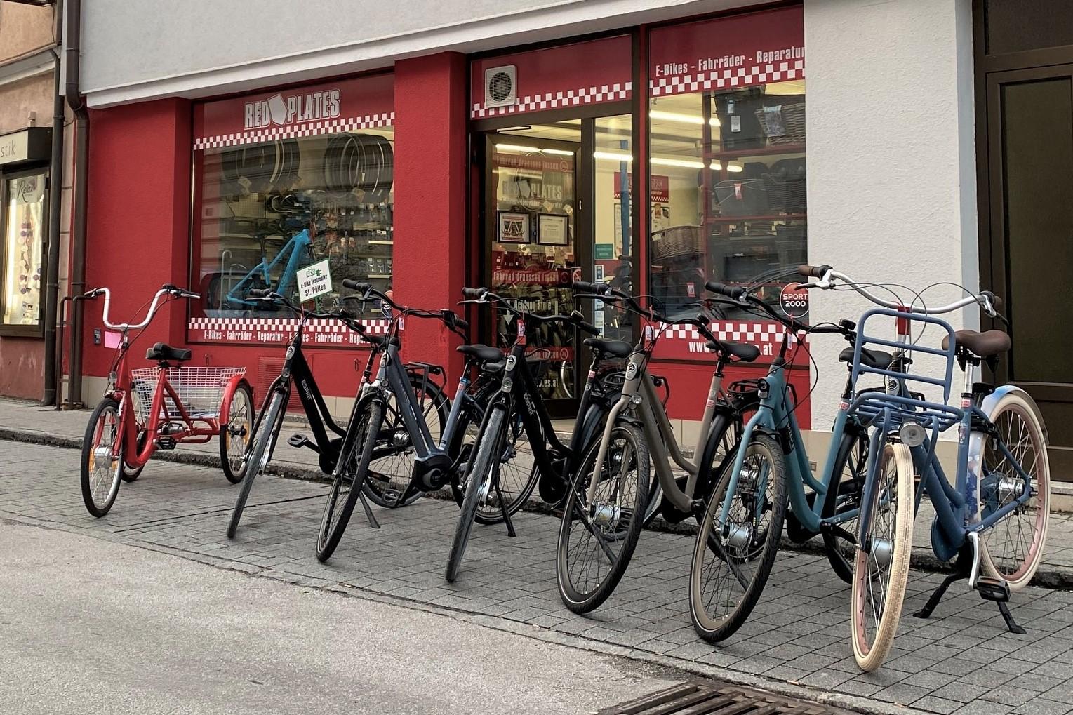 Fahrradservice & Fahrradreparatur Red Plates